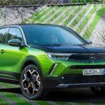 The new 2021 Opel Mokka-e electric compact SUV